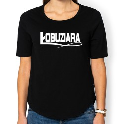 Łobuziara (bluzka damska 3/4) jasna grafika