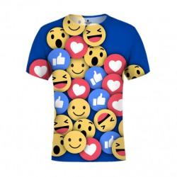Emoty darkBG (koszulka męska fullprint)