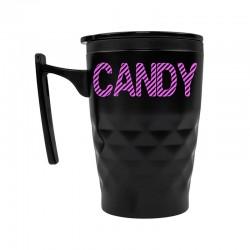 Candy - Kubek termiczny z uchwytem