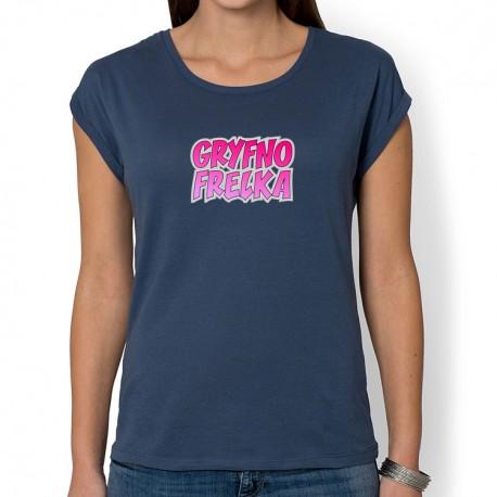 Gryfno Frelka (bluzka damska rolls z nadrukiem)