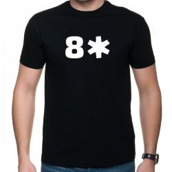 8 gwiazdek - t-shirt z nadrukiem