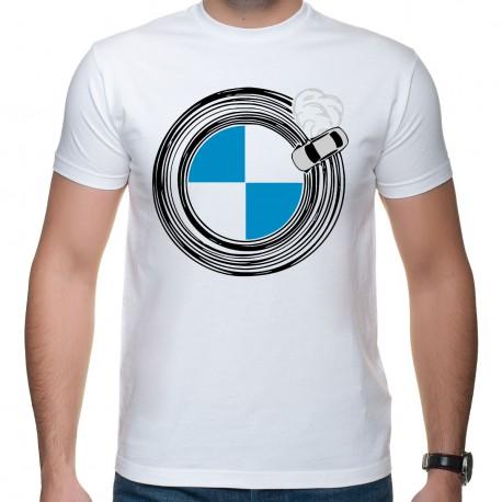 Drift around BMW (koszulka męska)