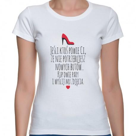 Kup dwie pary - bluzka damska z nadrukiem