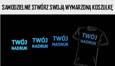 Sam zaprojektuj swoją koszulkę!